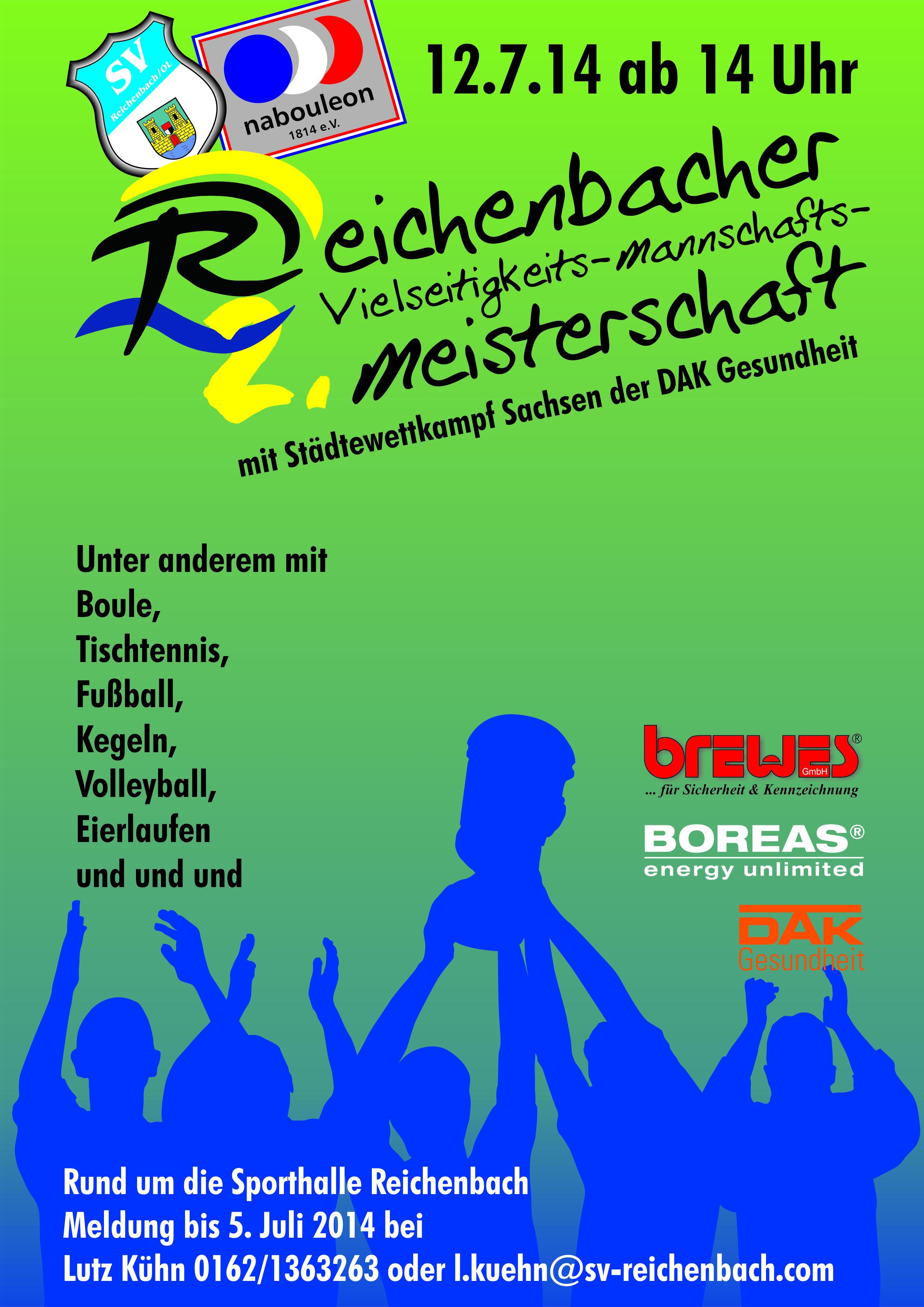 Reichenbacher Vielseitigkeits-Mannschafts-Meisterschaft