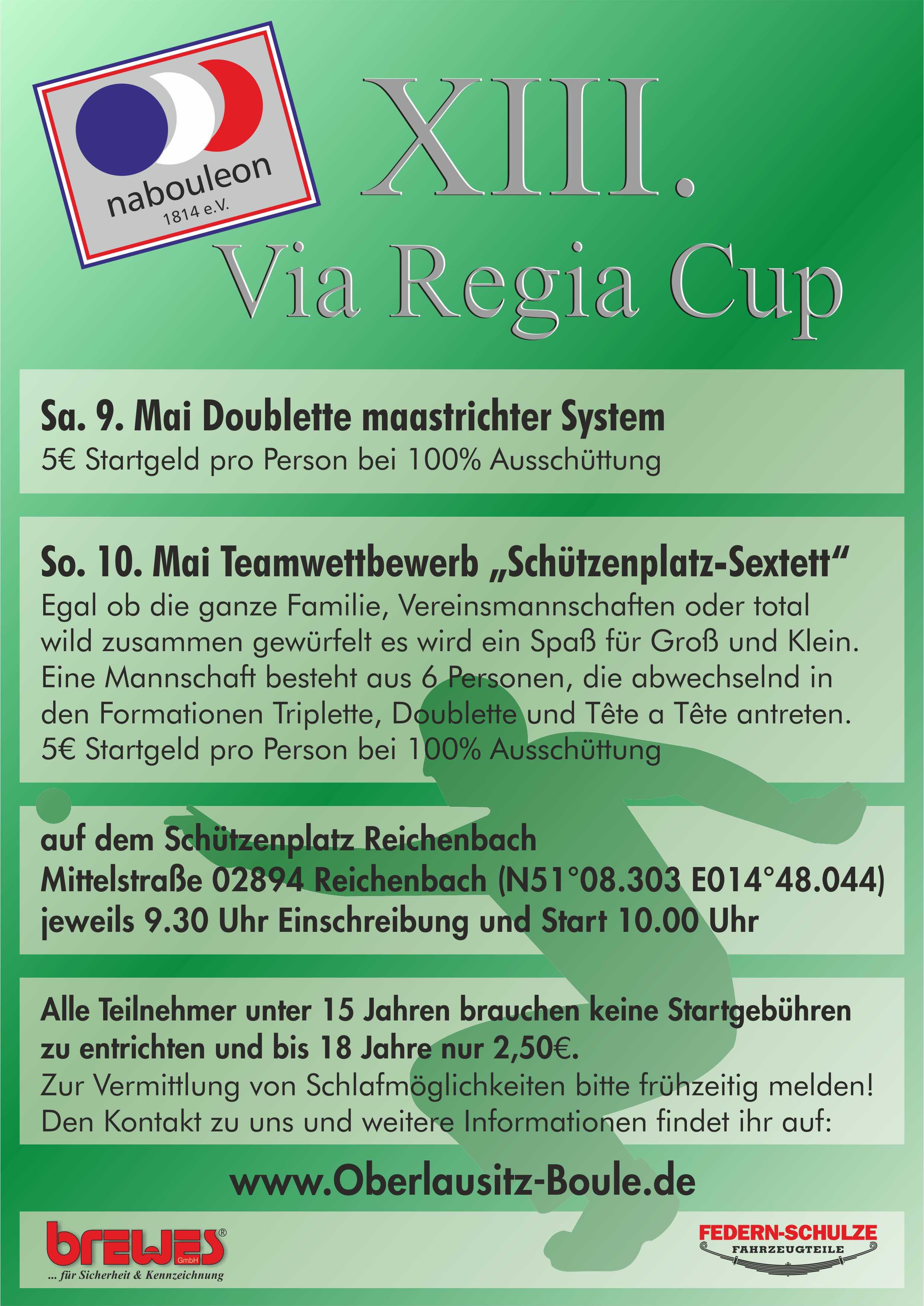 12. Via Regia Cup 2014 Plakat